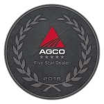 AGCO Five Star Dealer Medallion 2018