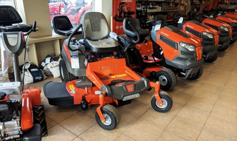 Husqvarna Z248F Zero Turn Mower » Proudfoot Motors